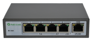 Коммутатор PoE-Link PL-541FA 60Вт | PoE Switch